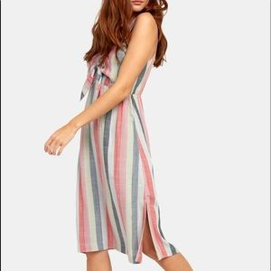 NWT RVCA midi dress